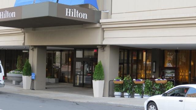 Hilton hotel downtown,Hartford-pictures,photos
