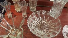 crystal glassware,for lovely home