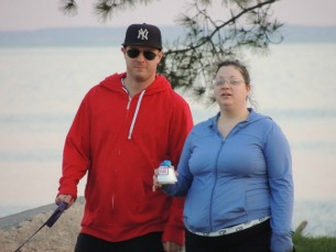 young lovers walking together,gifts anniversary
