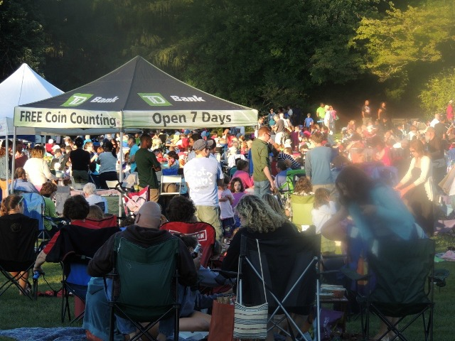 concerts in park,display of love with family