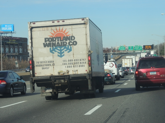 Different vehicle traveling america highway,pictures