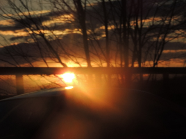 glimpse of the setting sun,images pictures