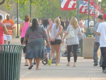 people walking on boardwalk,west hartford,pictures