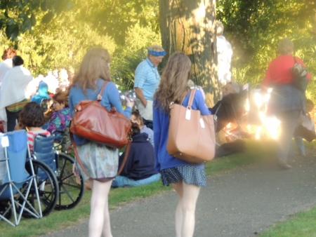 teen at concert in park,gift picture