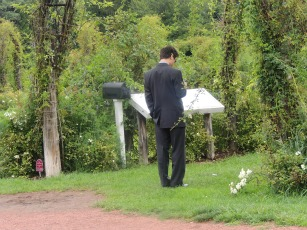 well dressed man in garden, gifts for him