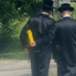 jewish men walking together,jewish gifts idea