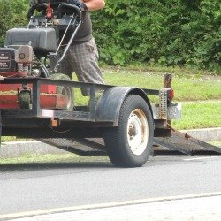 man with lawn mower,gifts for men
